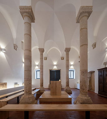 Sinagoga medieval de Tomar. Medieval Synagogue in Tomar