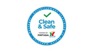 Selo clean and safe. Clean and safe stamp